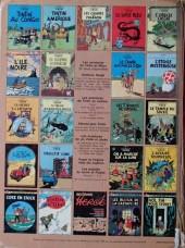 Verso de Tintin (Historique) -6C1- L'oreille cassée