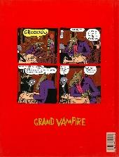 Verso de Grand vampire -3- Transatlantique en solitaire