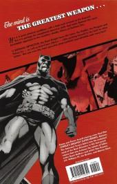 Verso de Detective Comics (1937) -INT- Batman: Detective