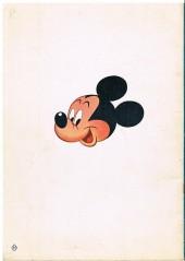 Verso de Votre série Mickey (1re série) -5- Mickey et les pillules mystérieuses