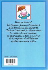 Verso de Manuel des Castors juniors (2e série) -FL- La cuisine c'est magique