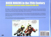 Verso de Buck Rogers in the 25th century -6- Volume 6: the complete newspaper dailies (1936-1938)