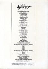 Verso de Stany Derval -2- Les deux trésors de Montorgueil