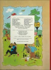 Verso de Tintin (Historique) -9B38- Le crabe aux pinces d'or