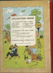 Verso de Tintin (Historique) -10B07- L'étoile mystérieuse