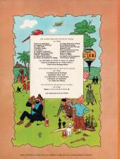 Verso de Tintin (Historique) -10B37- L'étoile mystérieuse