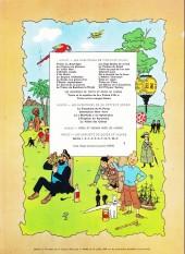 Verso de Tintin (Historique) -12B38bis- Le trésor de Rackham Le Rouge