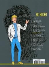 Verso de Ric Hochet - La collection (Hachette) -46- Les témoins de Satan