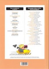 Verso de (Recueil) Spirou (Album du journal) -326- Spirou album du journal