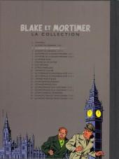 Verso de Blake et Mortimer - La collection (Hachette) -2- Le Secret de l'Espadon - Tome II - L'Évasion de Mortimer