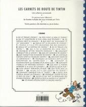 Verso de Tintin - Divers -CA5a- Carnets de route : l'Écosse