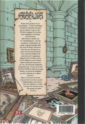 Verso de (AUT) Hergé -113TT- Hergénéalogies