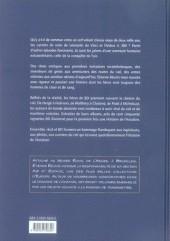 Verso de (DOC) Études et essais divers -6- L'Histoire de l'aviation au fil de la BD