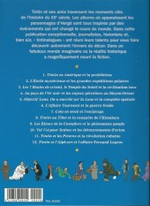 Verso de Tintin - Divers -61''''- Les Personnages de Tintin dans l'Histoire (vol. 2)