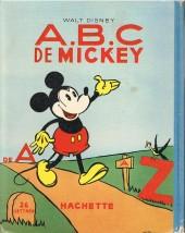 Verso de Walt Disney (Hachette) Silly Symphonies -9- A.B.C de mickey