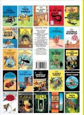 Verso de Tintín (Las Aventuras de) -9c2008- El Cangrejo de las pinzas de oro