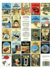 Verso de Tintin (Historique) -17C8- On a marché sur la lune