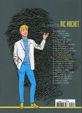 Verso de Ric Hochet - La collection (Hachette) -47- Les jumeaux diaboliques