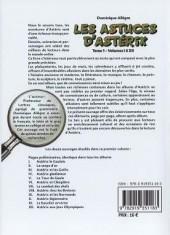 Verso de Astérix (Autres) -402- Les Astuces d'Astérix - Tome 2 - Volumes XIII à XXIV