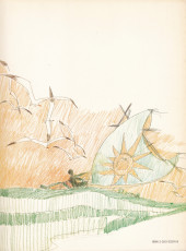 Verso de Corto Maltese -1- La ballade de la mer salée