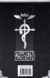 Verso de FullMetal Alchemist -INT01- Volume I - Tomes 1-2-3