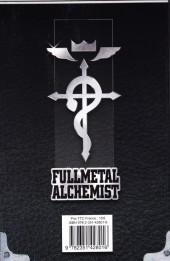 Verso de FullMetal Alchemist -INT04- Volume IV - Tomes 8-9
