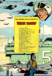 Verso de Buck Danny -8b1966- Les pirates du désert