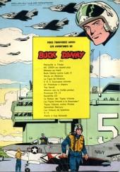 Verso de Buck Danny -21a1966- Un prototype a disparu
