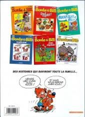 Verso de Boule et Bill -03- (Publicitaires) -26Shell- 'faut rigoler !