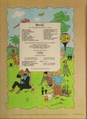 Verso de Tintin (Historique) -13B40bis- Les 7 boules de cristal