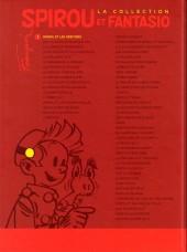 Verso de Spirou et Fantasio - La collection (Cobra) -1- Spirou et les héritiers