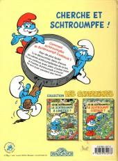 Verso de Les schtroumpfs (Jeux) -2LJ1- Où se schtroumpfe le Schtroumpf costaud ?