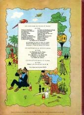 Verso de Tintin (Historique) -8B34- Le sceptre d'ottokar