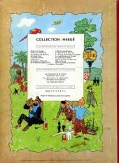 Verso de Tintin (Historique) -10B23- L'étoile mystérieuse