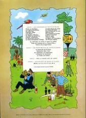 Verso de Tintin (Historique) -18B38bis- L'affaire Tournesol