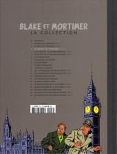 Verso de Blake et Mortimer - La collection (Hachette) -3- Le Secret de l'Espadon - Tome III - SX1 contre-attaque