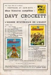 Verso de Davy Crockett (S.P.E) -16- Au secours de Billy