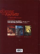 Verso de La guerre des Amants -1- Rouge Révolution