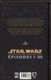 Verso de Star Wars -INT1- Intégrale - Épisodes I à III