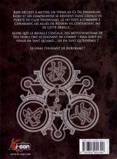 Verso de Kurokami Black God -19- Tome 19