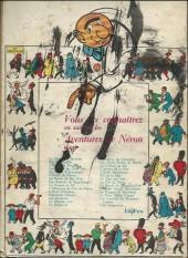 Verso de Samedi Jeunesse -54- L'heritage de neron