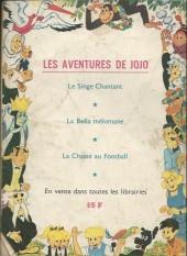 Verso de Samedi Jeunesse -86- Le jaguar d'or
