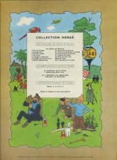 Verso de Tintin (Historique) -9B16- Le crabe aux pinces d'or