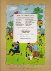 Verso de Tintin (Historique) -16B27- Objectif lune