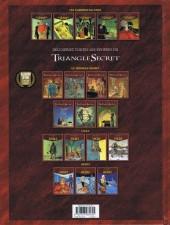 Verso de Le triangle secret - Les Gardiens du Sang -5- Acta est fabula