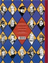 Verso de Blake et Mortimer (Les Aventures de) -2Valise- Le Secret de l'Espadon - Tome 2