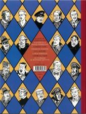 Verso de Blake et Mortimer -5Valise- Le Mystère de la Grande Pyramide - Tome 2
