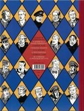 Verso de Blake et Mortimer (Les Aventures de) -4Valise- Le Mystère de la Grande Pyramide - Tome 1
