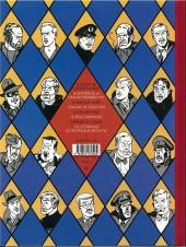 Verso de Blake et Mortimer (Les Aventures de) -12Valise- Les 3 Formules du Professeur Satô - Tome 2