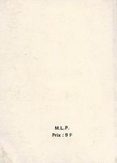 Verso de Long Rifle -Rec22- Album N°22 (du n°64 au n°66)